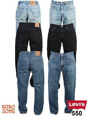 LEVIS 550 JEANS-VINTAGE RELAXED FIT DENIM GRADE A 28 in. to 40 in