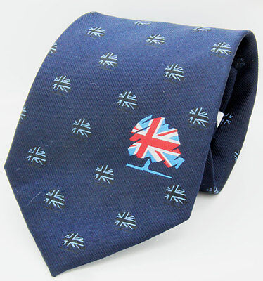 UK Conservative Party Tie   British Party Politics/Government/Tory/Theresa May