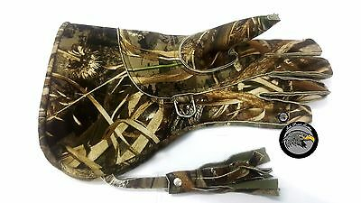 falconry  Commando Color Gloves good quality new look  fabric