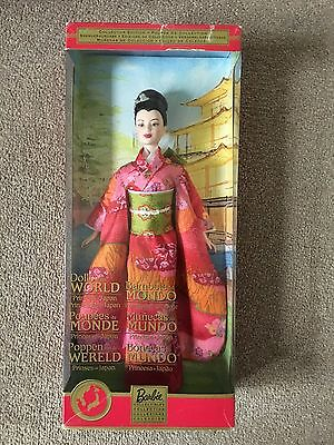Barbie Doll Princess Of Japan Dolls Of The World Nrfb
