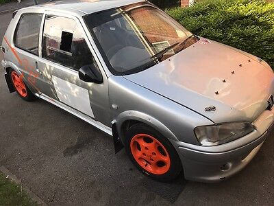 Peugeot 106 GTI 1.6 MSA Logbooked Lightweight Rally Car Weld In Cage