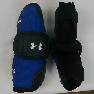 Under Armour Player SS Arm Guards - RoyalBlk - Large - NEW