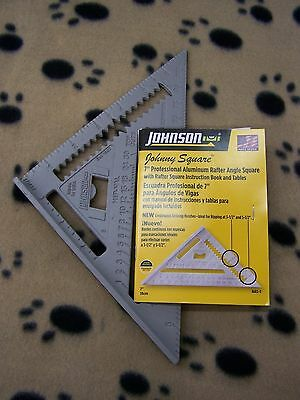 """7"""" Rafter Square Speed Square, Johnson!  Auction 130"""