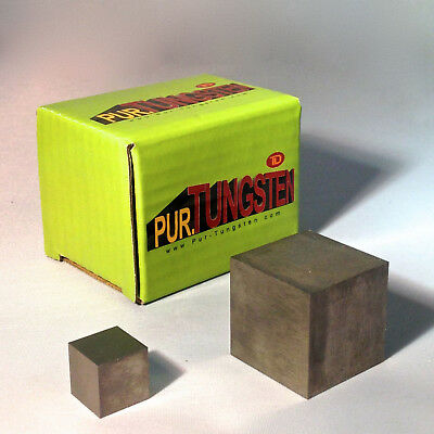 """Premium 1"""" Tungsten Cube Block Weight 