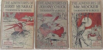 The Adventures of...A Series of The Bedtime Stories Thornton Burgess Children