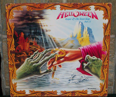 HELLOWEEN - Keeper of the Seven Keys part 2  LP  BMG 1988