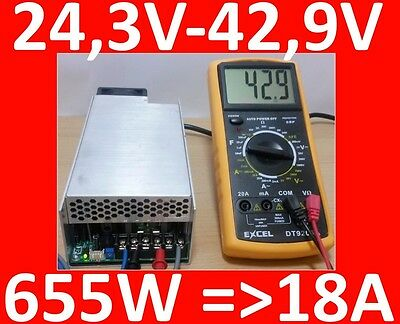 655W 36V 18A XP Power SHP SHP650PS36-EF Netzteil CNC LED 3D Laser Power Supply