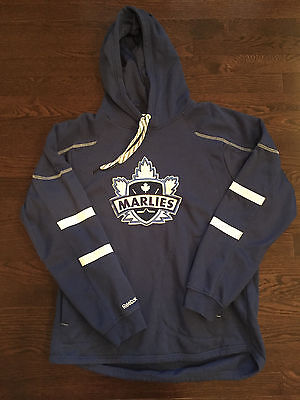 Toronto Marlies Hoodie Reebok AHL Faceoff Collection Mens Size L