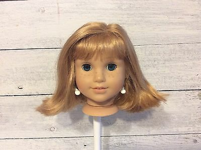 American Girl Doll Retired Doll Nellie Replacement Head, Wig, Eyes Only!