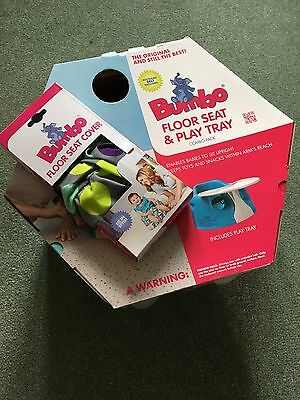 Bumbo Floor Seat and Play Tray Combo Pack
