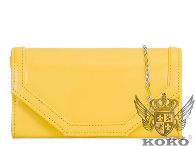 Patent Design Elegant Brand Fashion Style Ladies Evening Party Clutch Bags H473