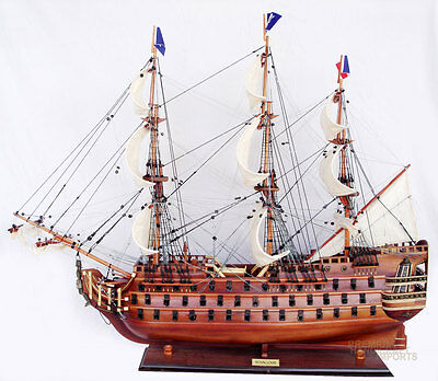 "37"" Royal Louis Display Wooden Ship Model"