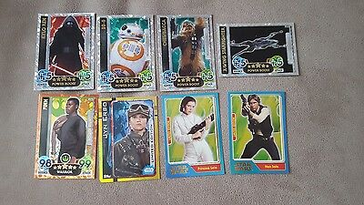 Topps force attax & extra star wars rogue one and more limited edition pick 1