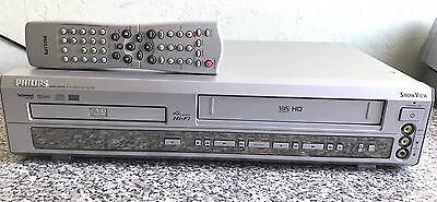 PHILIPS DVD740 VR . DVD Player + VHS VIDEO 4 Têtes   Player Combi Magnetoscope