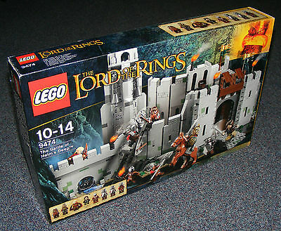 Lord Of The Rings Lego 9474 The Battle For Helm's Deep B-Stock Brand New Sealed