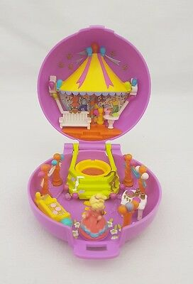 Vintage Polly Pocket Carnival Parade Compact  figure Excellent condition