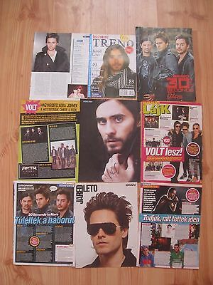 Jared Leto 30 Seconds To Mars Clipping Pinup Lot