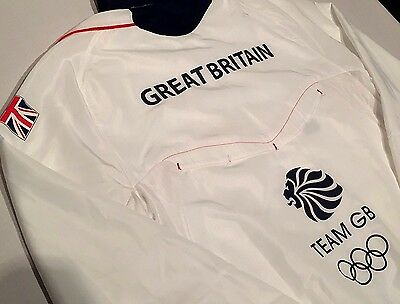 Olympic Team GB Training Jacket Great Britain Official ATHLETE ISSUE BNWT 38/40