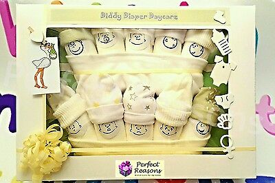 Diddy Diaper Daycare Baby Gift Set Baby Shower New Baby