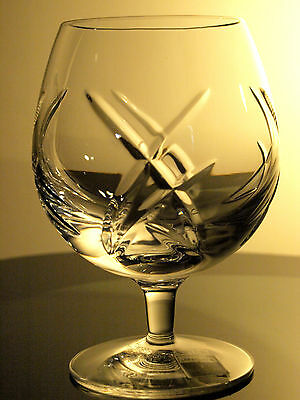 Waterford Crystal Signed John Rocha Signature Brandy Glass/Glasses New