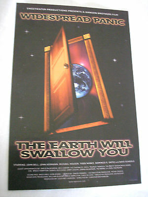 Widespread Panic Sticker From Their Movie The Earth Will Swallow You Authentic