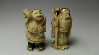 Two Ancient Netsuke  - Antichi