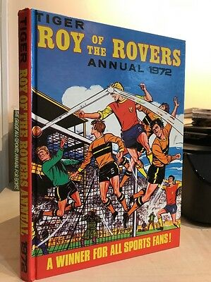 Tiger Roy Of The Rover Football Annual 1972