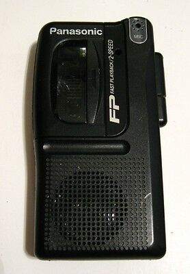 Rare Collectible Panasonic Micro Cassette Recorder Rn-502 Japan Made