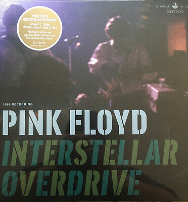 "Pink Floyd Interstellar Overdrive 12"" Vinyl Rsd 2017 Sealed Pfr12S6 Syd Barrett"