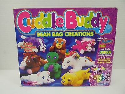 Vintage Lisa Frank  Cuddle Buddy Bean Bag Creations Kit Beanie Plush