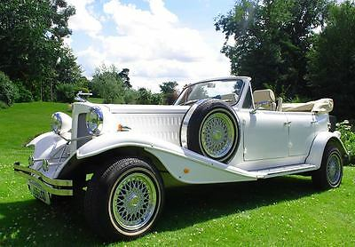 Hire Beauford Car, vintage wedding classic date night, old bentley-style, London