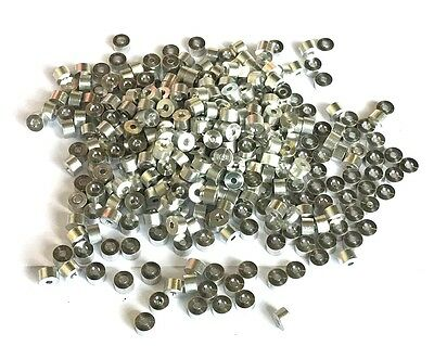 """1/16"""" Aluminum Stops for Wire Rope Cable 200 Pack Cable Tips"""