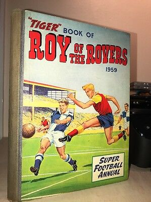 Tiger Roy Of The Rovers Football Annual 1959 ( 2nd Annual )