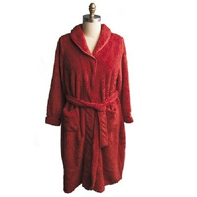 Catherine's Plush Robes -RED- Case of 24pcs.