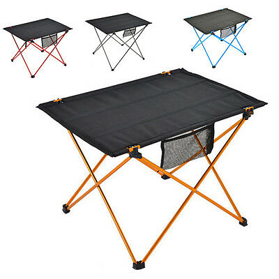 Portable Plus Size Folding Aluminum Camping Picnic Table Outdoor Camp Equipment
