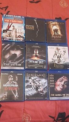 lot de 9 dvd blu ray
