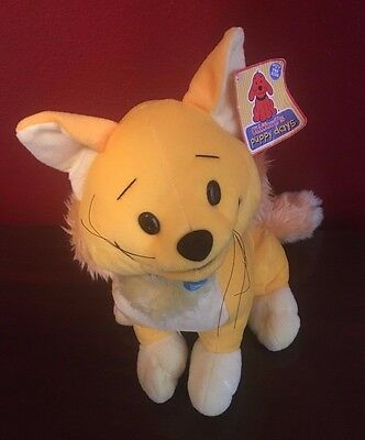 Clifford The Big Red Dog Zo Plush Puppy Days Yellow Boy Cat Brother of Flo Nanco