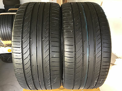 255 35 19  Continental Conti Sport Contact 5 Srr     Tyres  6 Mm   X2  92Y