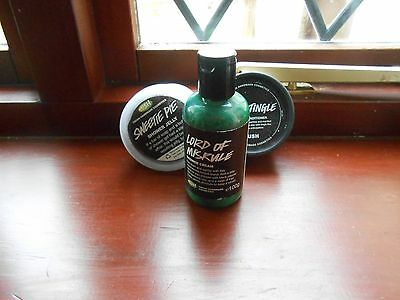 Lush bundle x 6 2 x solid perfume/ shower jelly/body conditioner/tooth powder /