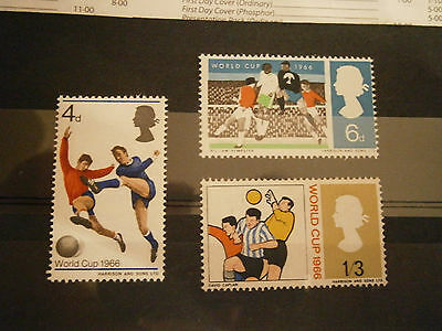 1966 Gb Stamps  World Cup-Mnh