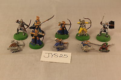 Warhammer Lord of The Rings Elves Lot