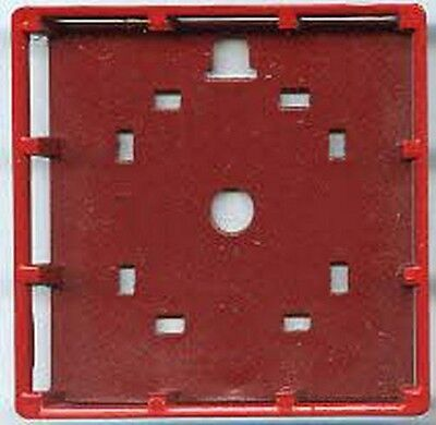 LIGHT TOWER PLATFORM RED for American Flyer S Gauge Scale Trains
