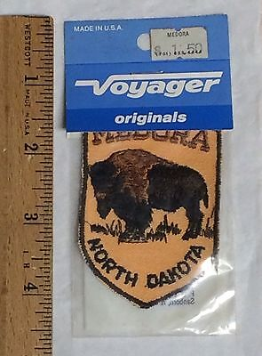 NIP Vintage MEDORA North Dakota ND Souvenir Patch Badge by Voyager