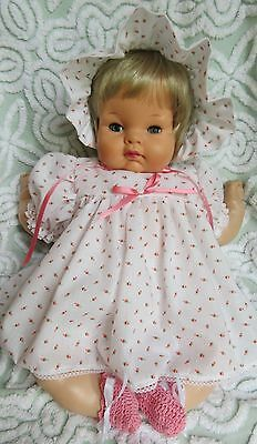 "4 Piece Dress Set For 18"" Vintage Vogue Baby Dear Doll"
