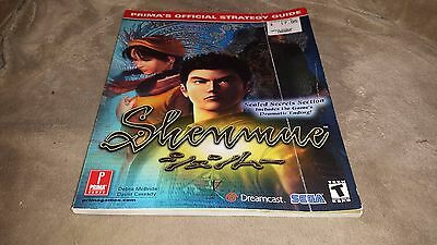 Shenmue (Dreamcast) Strategy Guide by Prima (2000)