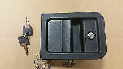 060 1650 Trimark Rv Entry Door Lock 60 650 Black Motorhome Lock New