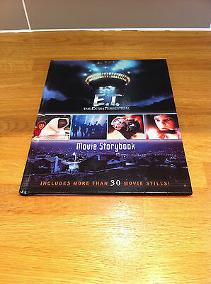 E.T. Extra Terrestial ET Movie Story book Annual Film DVD shots 20th Anniversary