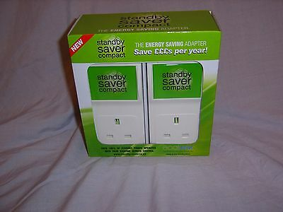 4 x Ecotek Standby Money & Electric Power Saver Compact - Infrared - TV Dvd Hifi