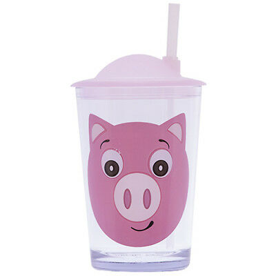Epicurean Pig Tumbler With Lid & Straw