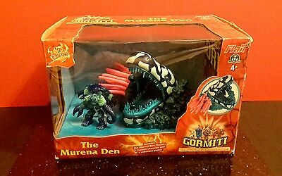 "Gormiti Lords Of Nature ""the Murena Den Playset, Toy,rare,boxed,"